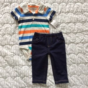 NWT Carter's Baby Boy Outfit 9m